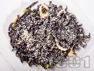 Рецепта Черни спагети с калмари